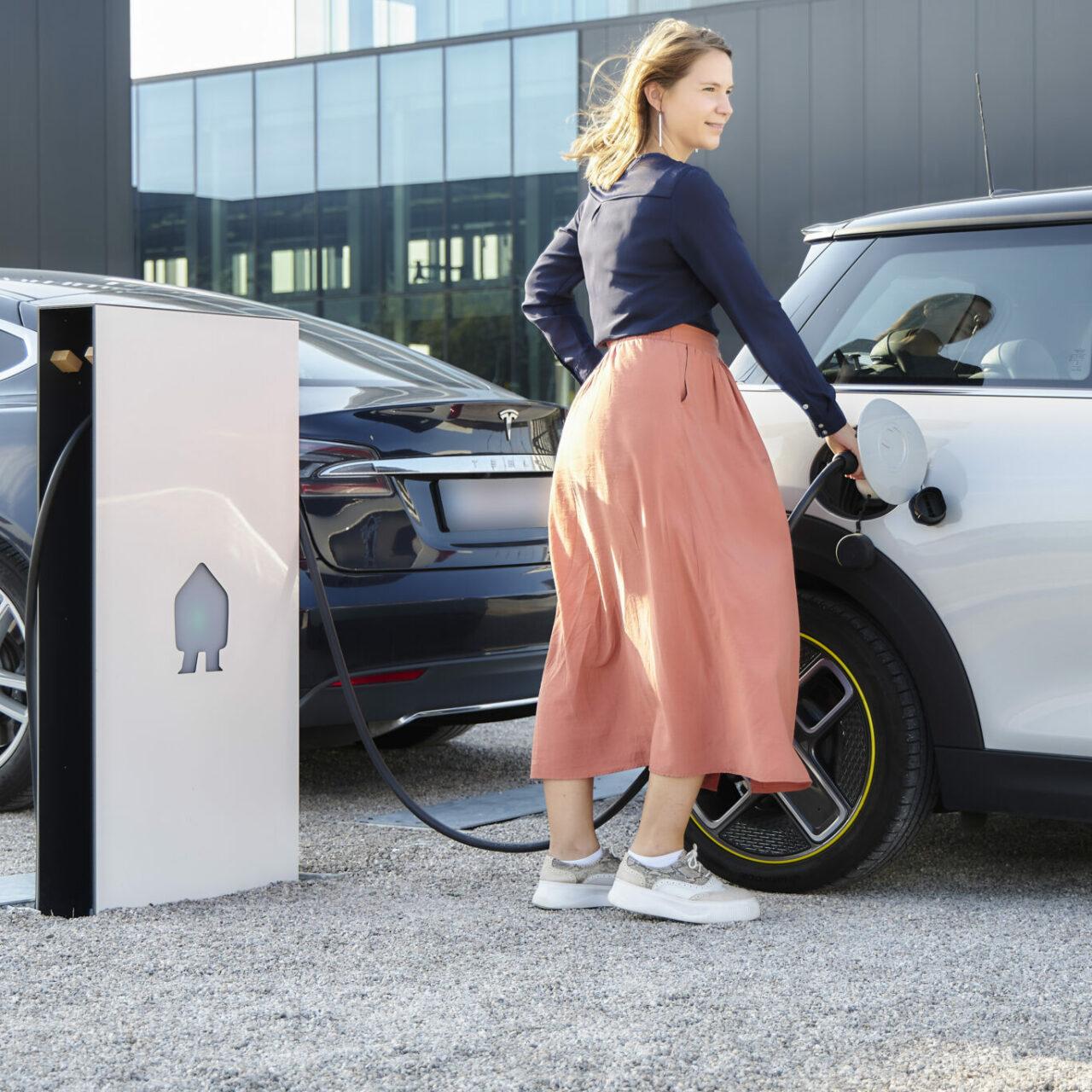 Smappee EV Base - EV charging - autoladen - recharge des véhicules